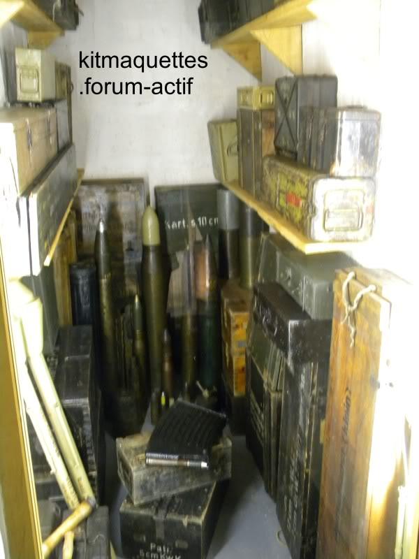 bunker - visite du musée du grand bunker à Ouistreham Ouistreham045