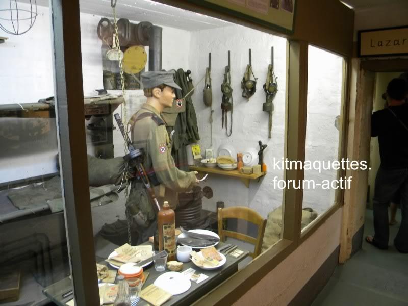 bunker - visite du musée du grand bunker à Ouistreham Ouistreham046