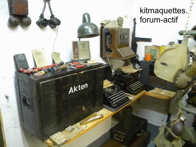bunker - visite du musée du grand bunker à Ouistreham Ouistreham047