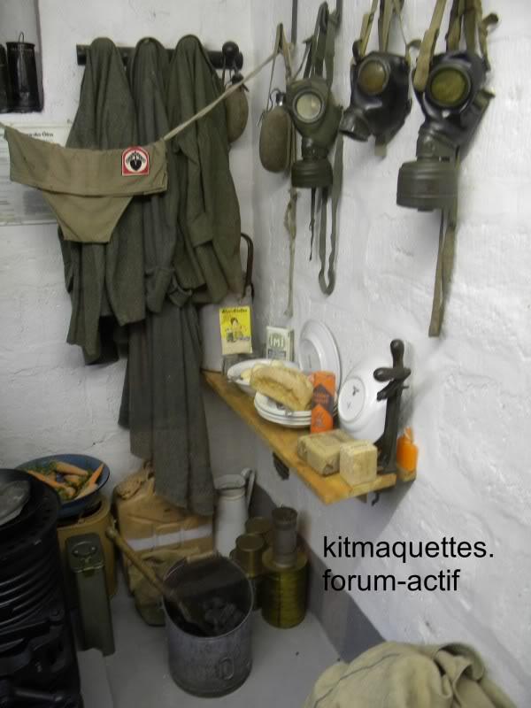 bunker - visite du musée du grand bunker à Ouistreham Ouistreham051
