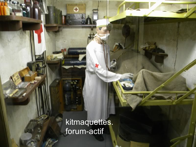 bunker - visite du musée du grand bunker à Ouistreham Ouistreham053