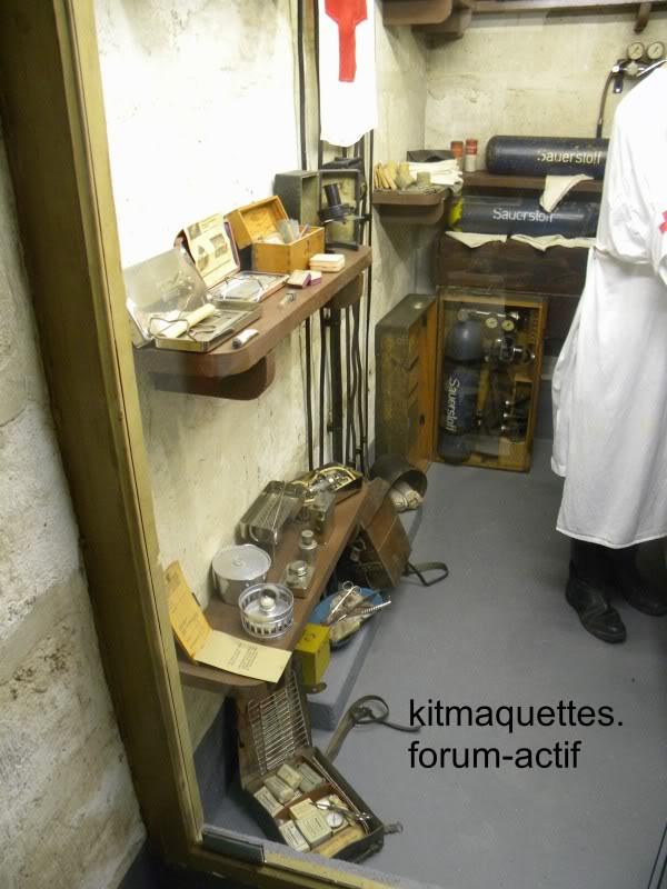 bunker - visite du musée du grand bunker à Ouistreham Ouistreham054