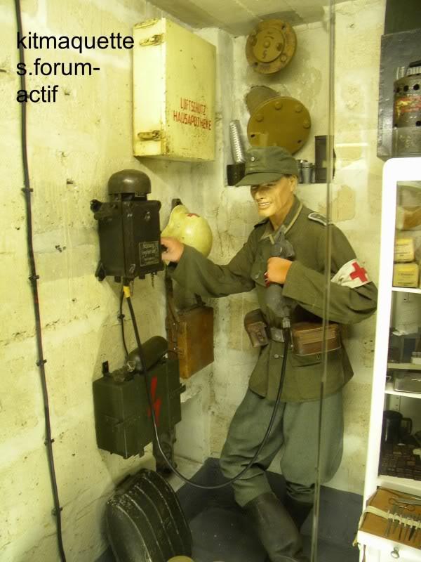 bunker - visite du musée du grand bunker à Ouistreham Ouistreham056