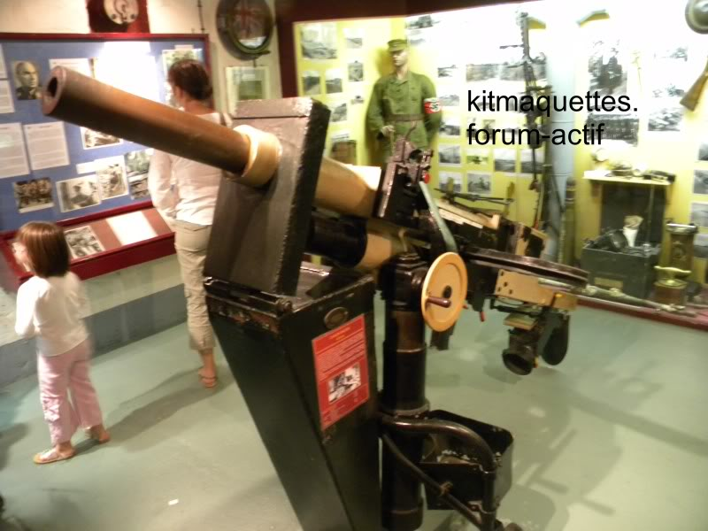 bunker - visite du musée du grand bunker à Ouistreham Ouistreham063