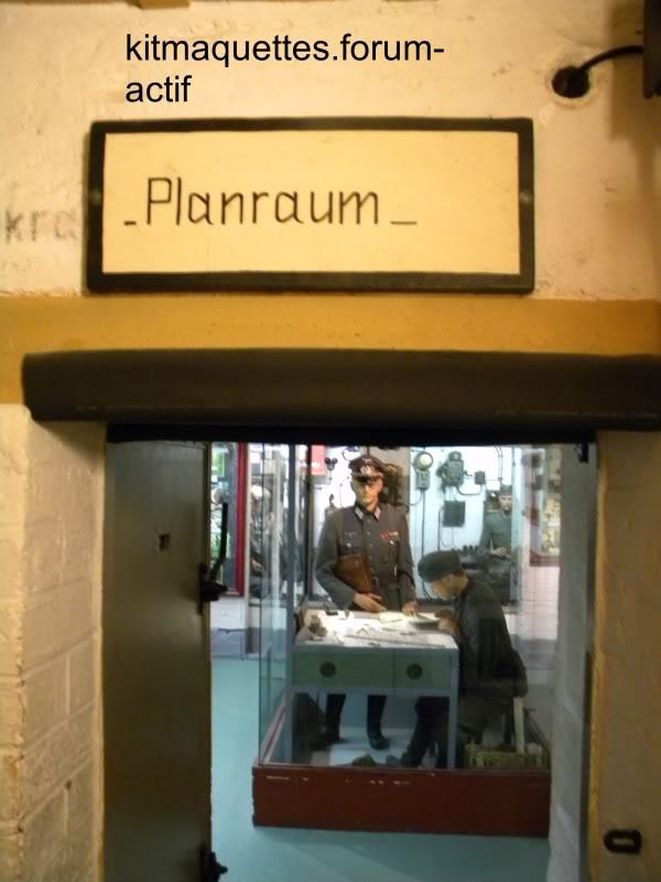 bunker - visite du musée du grand bunker à Ouistreham Ouistreham091