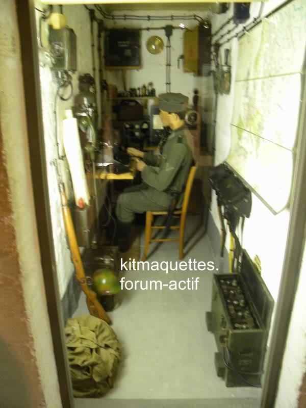 bunker - visite du musée du grand bunker à Ouistreham Ouistreham094