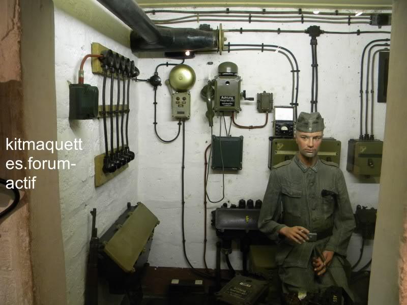 bunker - visite du musée du grand bunker à Ouistreham Ouistreham098