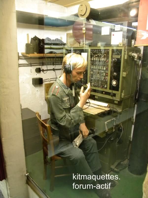 bunker - visite du musée du grand bunker à Ouistreham Ouistreham100