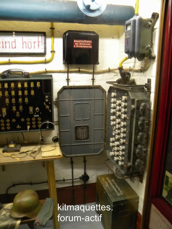 bunker - visite du musée du grand bunker à Ouistreham Ouistreham105