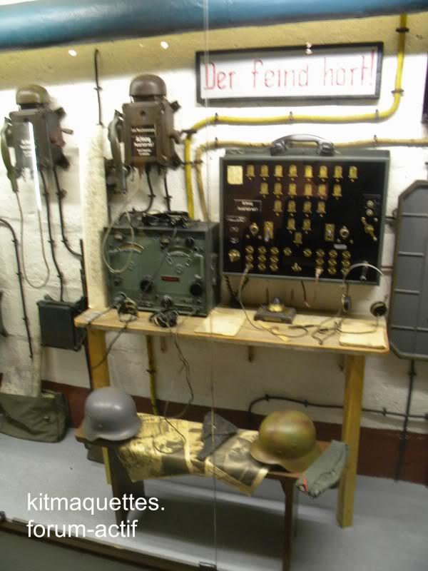 bunker - visite du musée du grand bunker à Ouistreham Ouistreham106