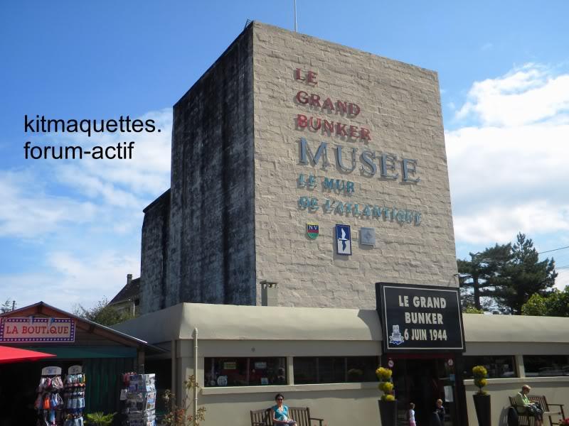 bunker - visite du musée du grand bunker à Ouistreham Ouistreham172