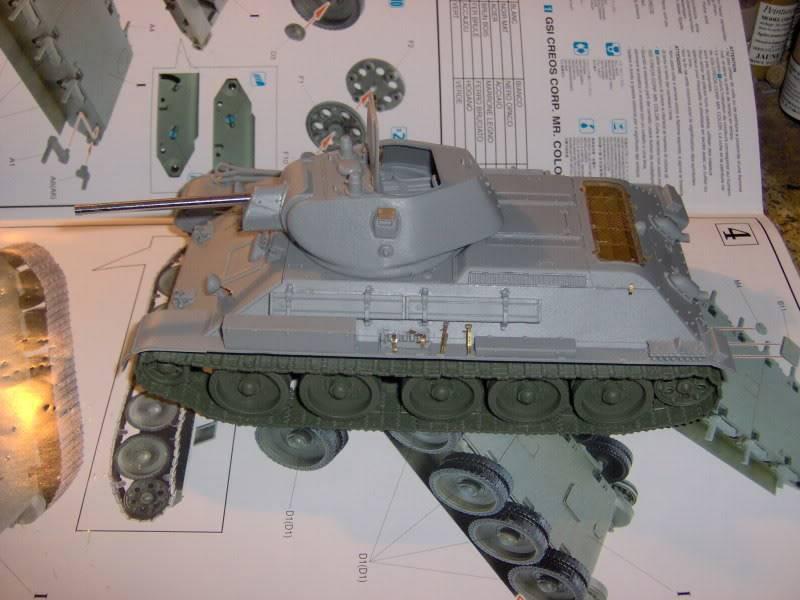 sherman abandonné T34003