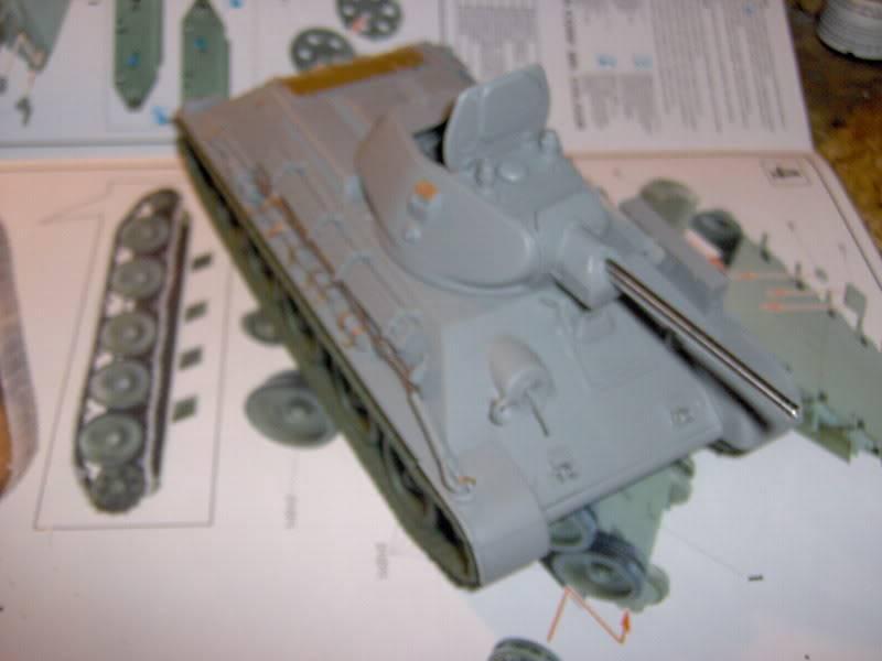 sherman abandonné T34005