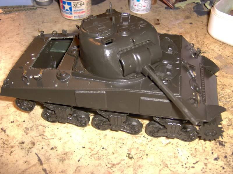 sherman abandonné T34031