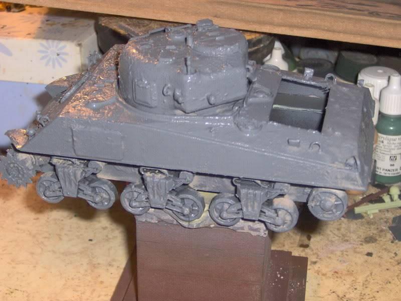 sherman abandonné T34034
