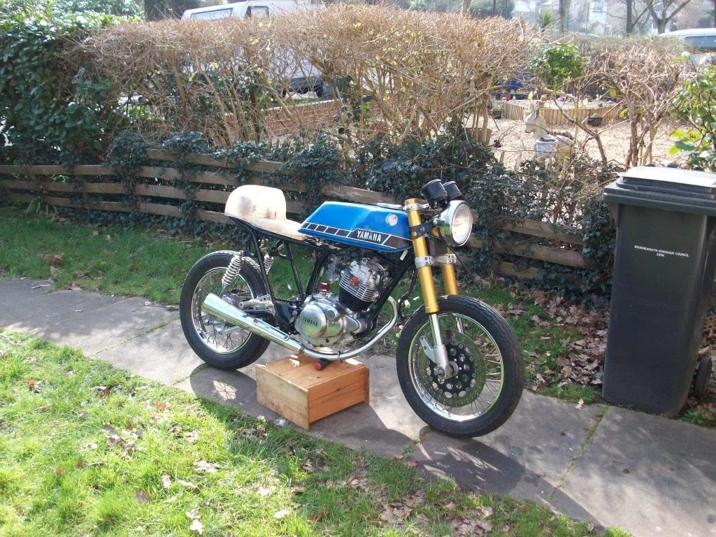 Yamaha sr125 Cafe racer 100_2426