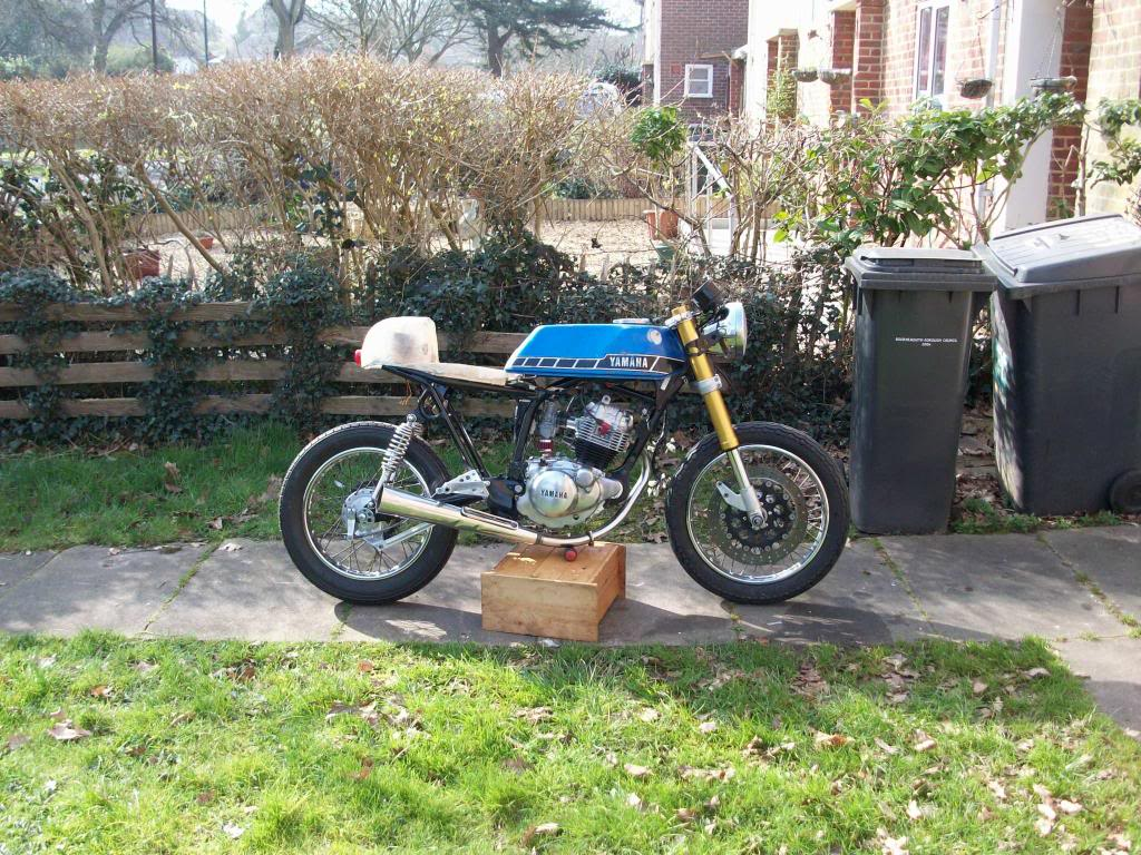Yamaha sr125 Cafe racer 100_2428