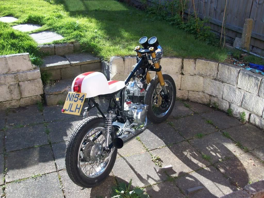 Yamaha sr125 Cafe racer 100_2512