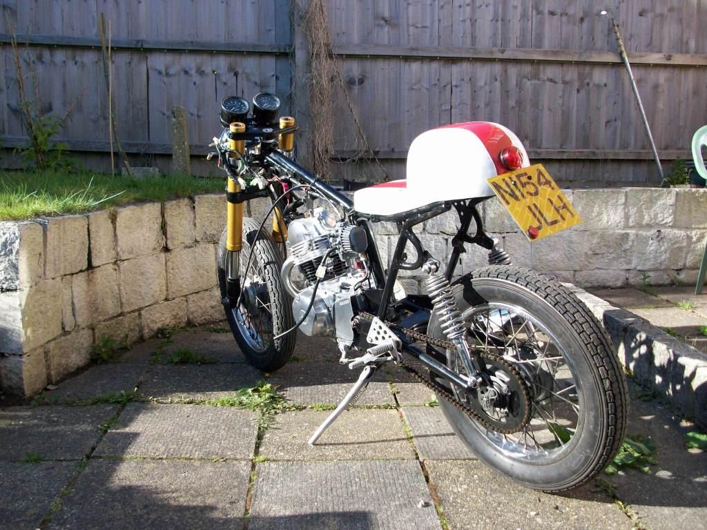 Yamaha sr125 Cafe racer 100_2513