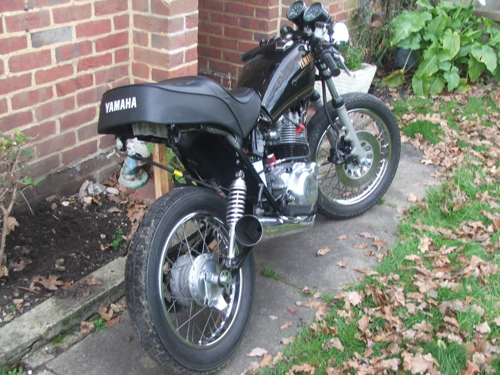 Yamaha sr125 Cafe racer DSCF1155
