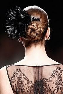Peinados de pasarela: recogidos con trenzas Trenzas1