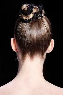 Peinados de pasarela: recogidos con trenzas Trenzas3