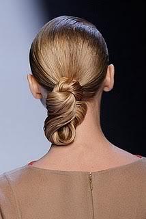 Peinados de pasarela: recogidos con trenzas Trenzas5