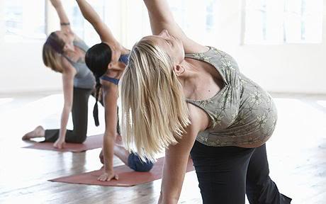 ¿Es malo hacer ejercicios en estado de embarazo? Pregnant_fitness_02