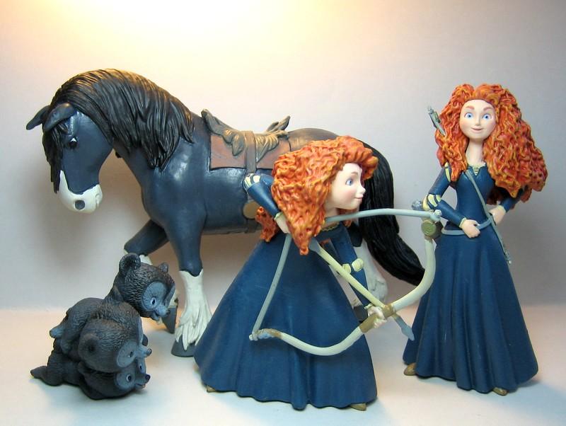 Disney Brave New products of Bullyland Brave