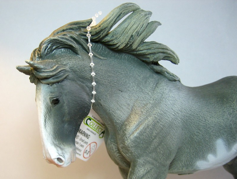 Some new Collecta horses released in February 2013 Clydegrea13head_zps19bda3a8