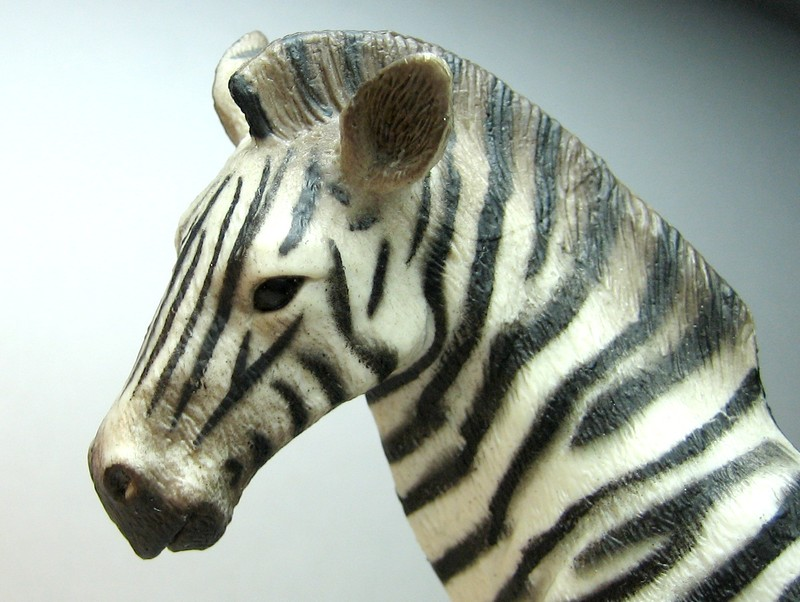 Susannes new collectas : Baby lion, dinoes, zebras, roan horses, plants,cocker.. Collectazebrahead