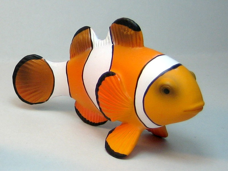 Fantastic gift from James, - and other mew Mojos :-) Mojoclownfish