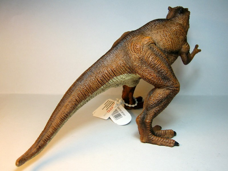 The large T-rex from Mojo, - and his little friend ;-) Mojorex2