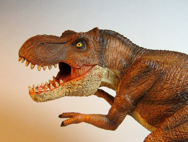 The large T-rex from Mojo, - and his little friend ;-) Mojorex3