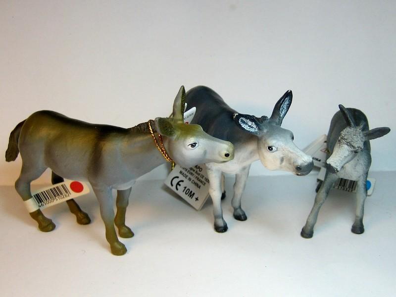 Papo 51028 Grey donkey Papodonkeys3