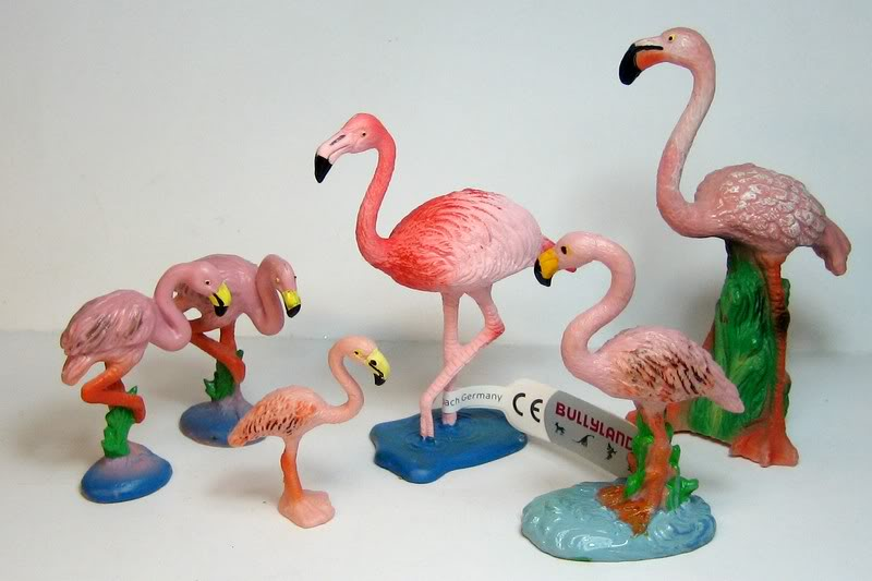 Susanne's Bullyland additions - Page 6 Flamingoes