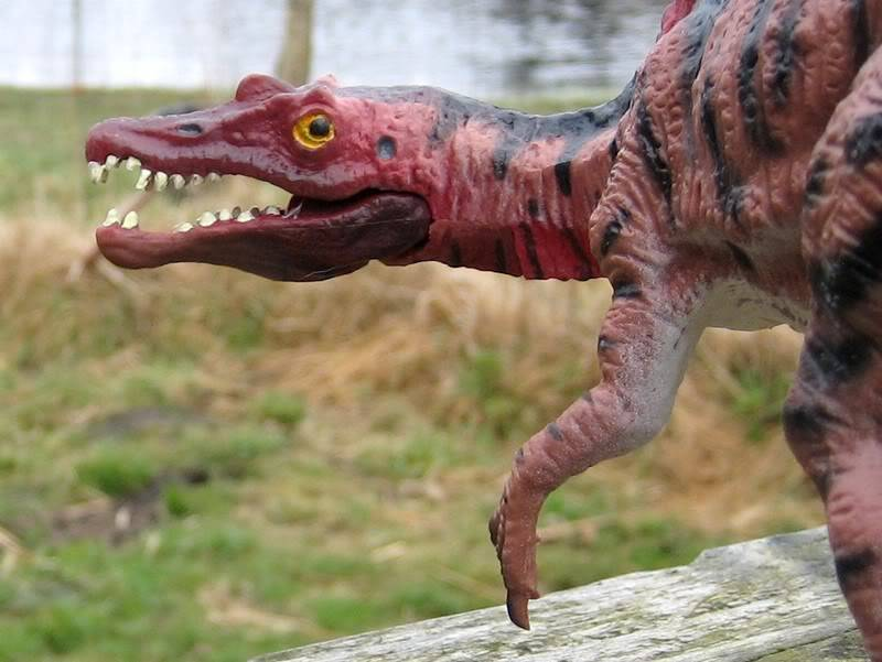 The spinosaurus - 8 tons of carnivorous monster :-o Spino1