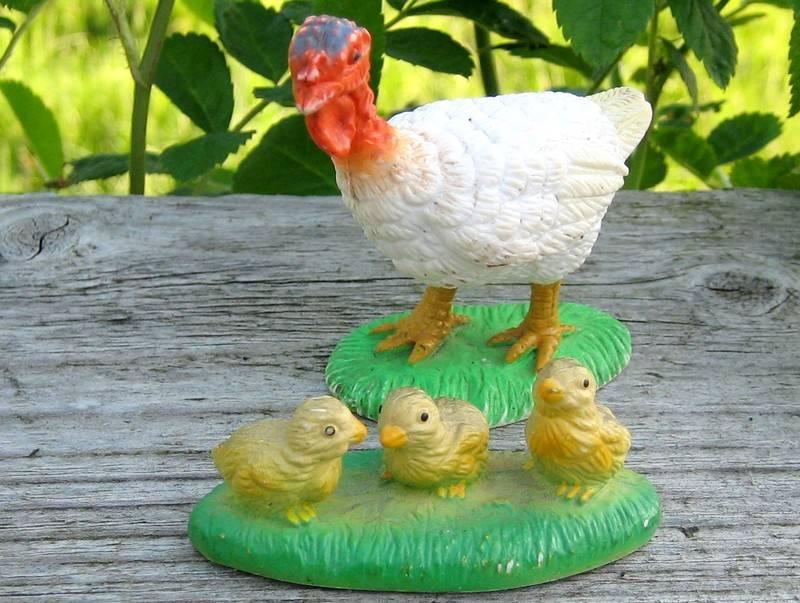 The turkeys from Bullyland, - at last I found the chickens :-) Turkey6