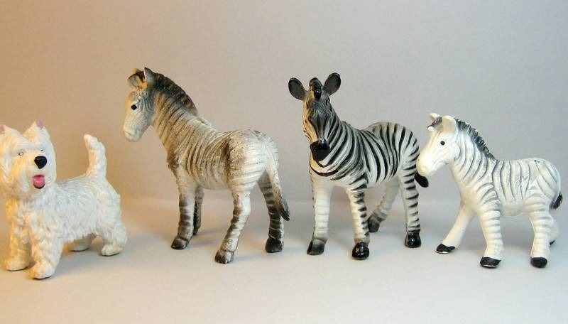 A great gift from Bojan, - and various new and old Bullylands ;-) Zebrasammenlign