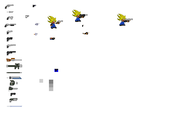 Kaitos' Custom Weapon Sprites CustomWeaponsheet