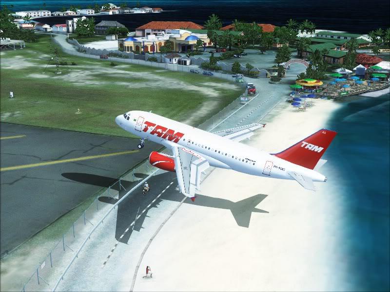 Airbus A319 TAM-St Maarten 11-4