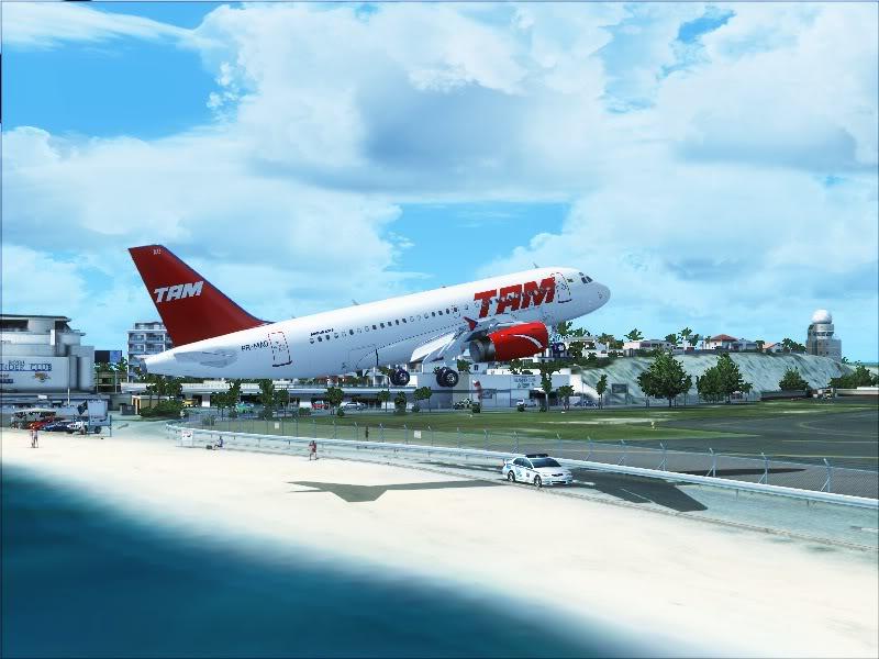 Airbus A319 TAM-St Maarten 12-3