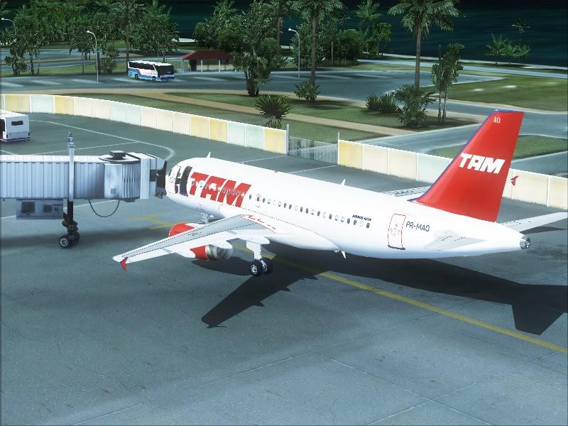 Airbus A319 TAM-St Maarten 15-2