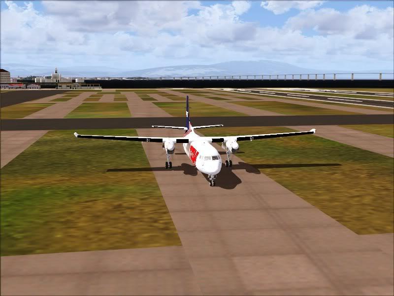 Fokker 50 TAM no Rio de Janeiro. 17-1