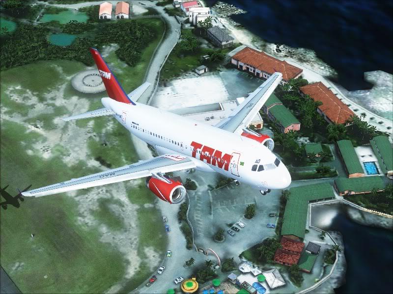 Airbus A319 TAM-St Maarten 2-10