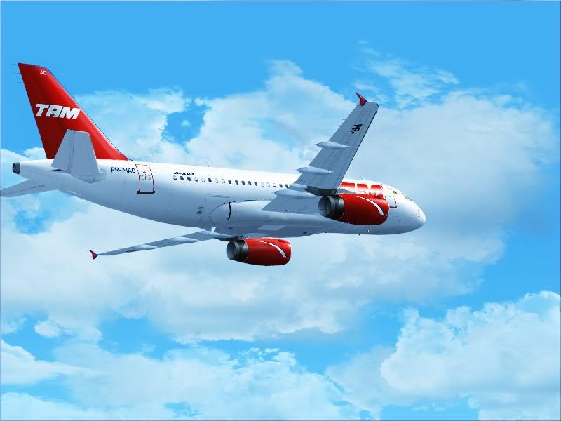 Airbus A319 TAM-St Maarten 3-10