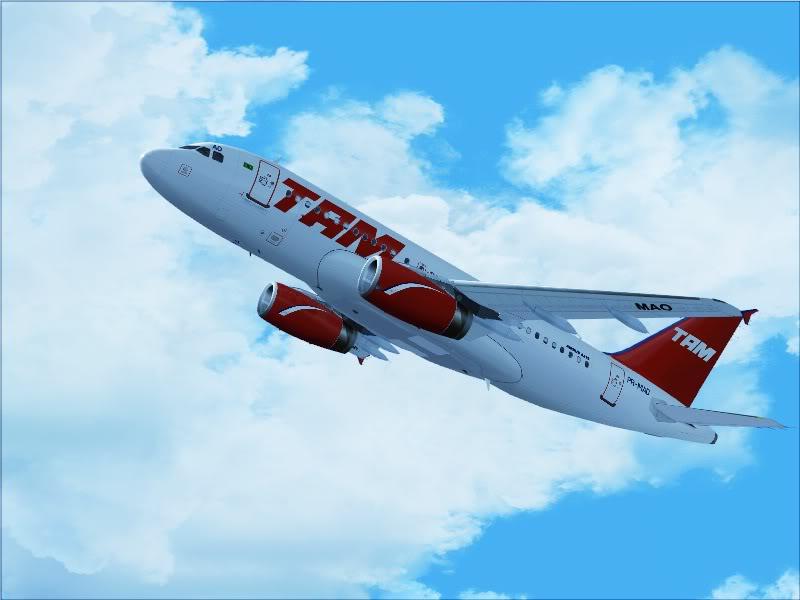 Airbus A319 TAM-St Maarten 4-12
