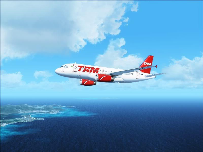 Airbus A319 TAM-St Maarten 6-8