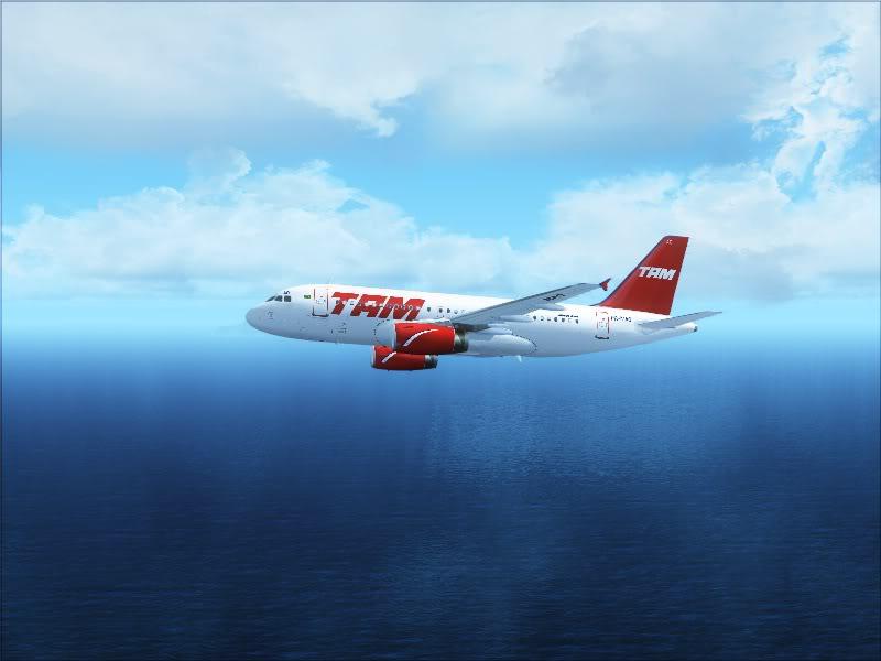 Airbus A319 TAM-St Maarten 7-7