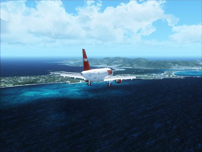 Airbus A319 TAM-St Maarten 9-6